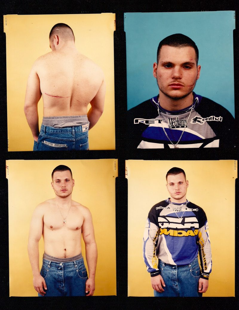 Eve Fowler (Los Angeles, USA), Original Contact Sheet, Hustler Series, 8 x 10 inches, SOLD.