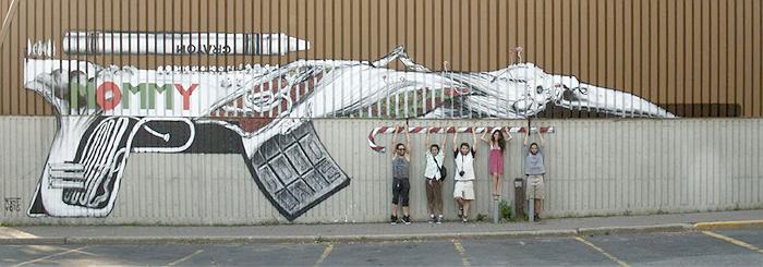 The Mural, Ottawa, Canada.