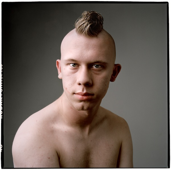 17 (anthony), Boys series, Inkjet Print on Archival Paper, 19.75 x 19.75 inches, 2011