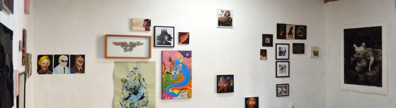 The Infidels, Exhibition Installation Shot, La Trampa, Mexico City, Mexico