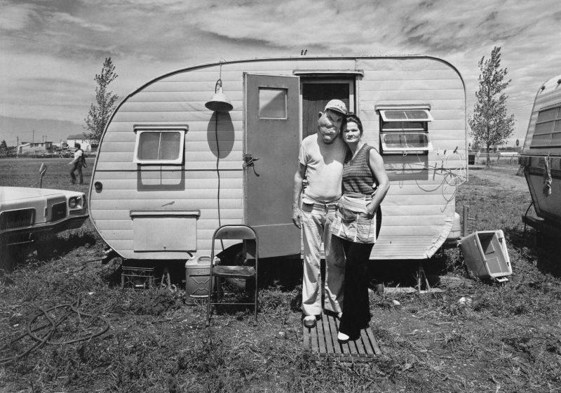 Randal Levenson (Miami, USA), In Search of the Monkey Girl, Bob & Virginia Melvon. Fargo, North Dakota, 1976. Vintage Print from Original Negative on Portriga Rapid 111 Double Weight Glossy Paper.