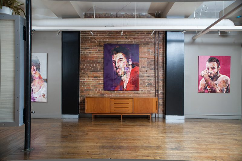 Andrew Salgado, The Smallest Heart's Desire, Solo Exhibit. Photography by Remi Theriault.