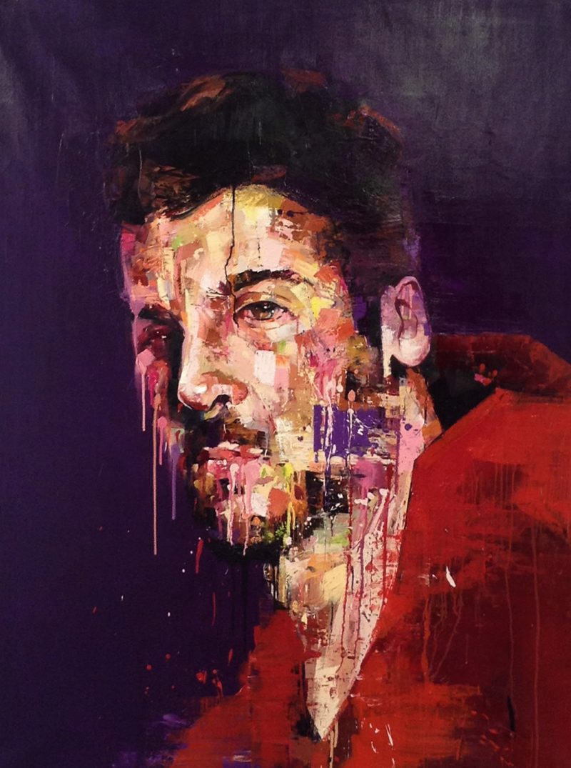 Actor, 160cm x 120cm, Oil on canvas, 2013, SOLD