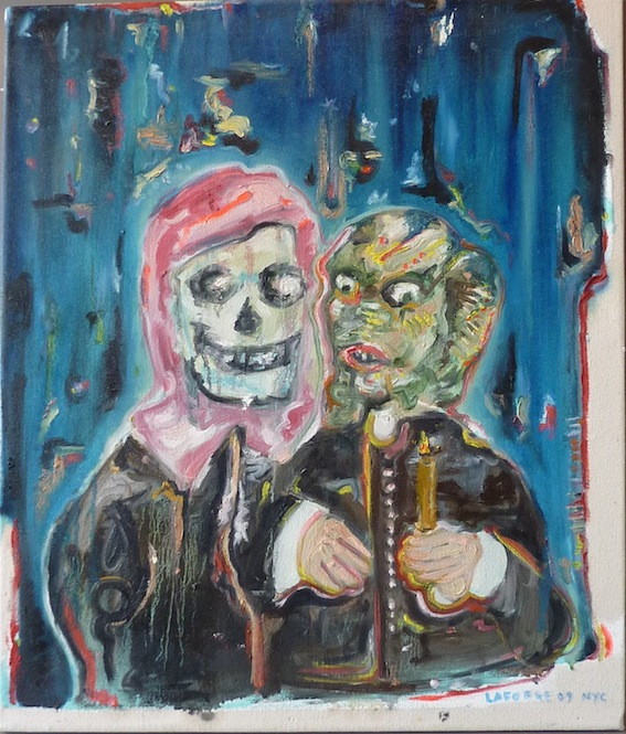Perfect Love, 2009, Oil on Canvas, 62 X 55 cm, Collection of Felipe Bracelis, Santiago, Chile (Gift from La Petite Mort Gallery)