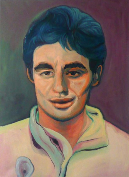 Tu Nombre Real, 2011, Oil on canvas, 50 X 70 cm, Private Collection of Anonymous Taxi Driver, Buenos Aires.