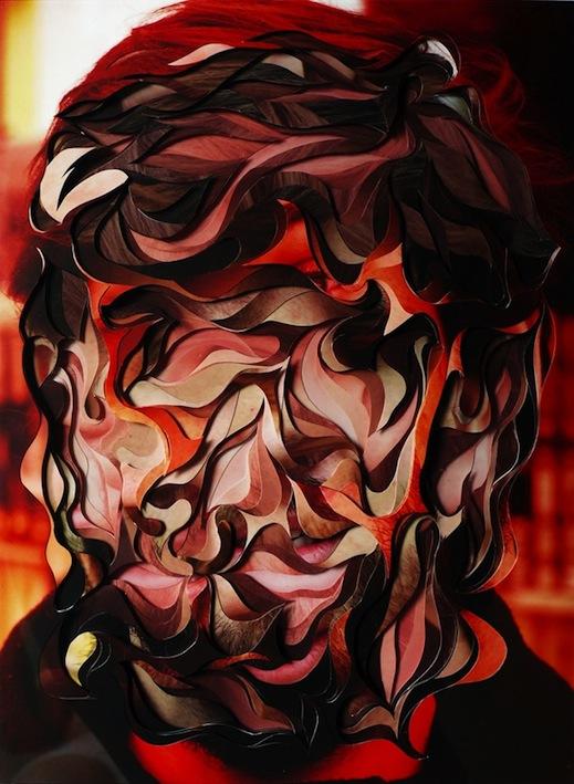 Auto - Desretrato, 2010, Photograph Cutouts and Acrylic Sheets, 15 X 20 cm, $2200