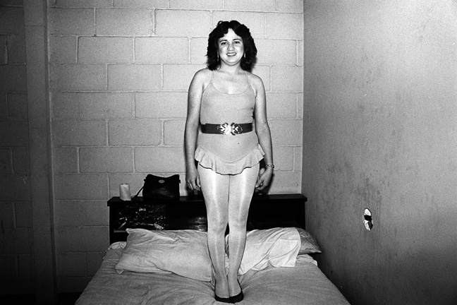 TJ Ruffle Girl, LOWLIFE Series, Silver Gelatin Photograph, 11 x 14 inches, Edition 1/10, Printed in 2012, US$1500