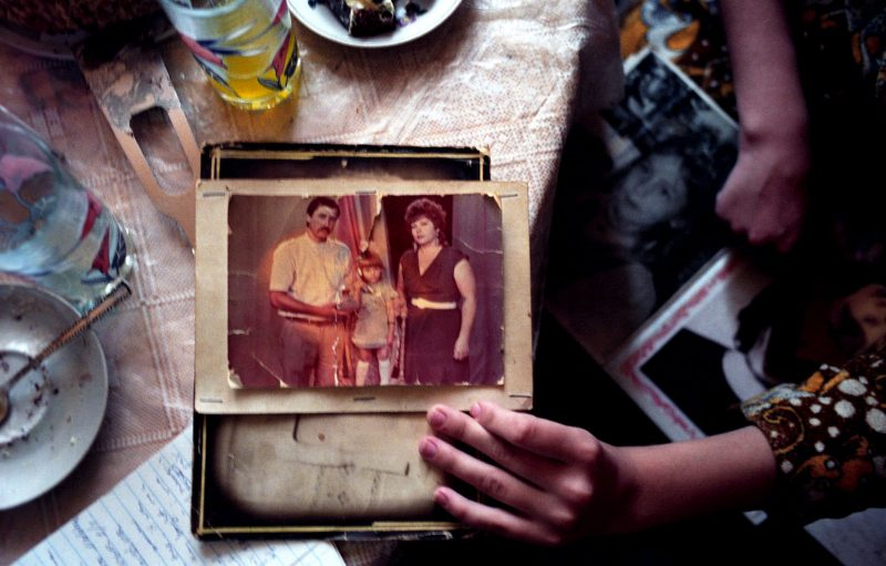 'The Price of Sex' Series, Photograph, 40 x 60 inches, (Cristina was trafficked to Russia at 16. Both of her parents are now alcoholics: When Cristina came home and told me what they had done to her... 'I said put me in a coffin and bury me,' says Cristina's mom. Moldova 2005), $700
