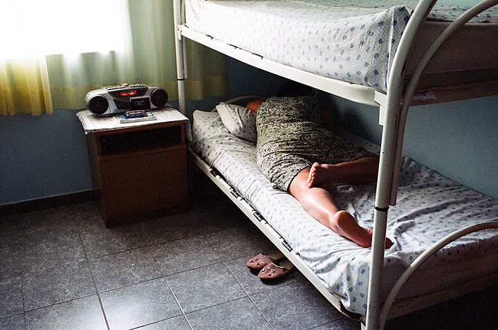 'The Price of Sex' Series, Photograph, 16 x 20 inches, (Most of the young women I met at a secret shelter in Albania were trafficked at the age of 12. Countries of destination include Greece, Italy, Belgium and the UK. Albania 2008), $700