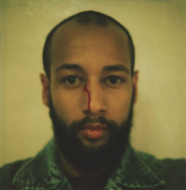 Self Portrait with Beard, Age 27, Astoria, Digital C-Print from Unique 600 Type Polaroid,36x36inches, 2011, $500