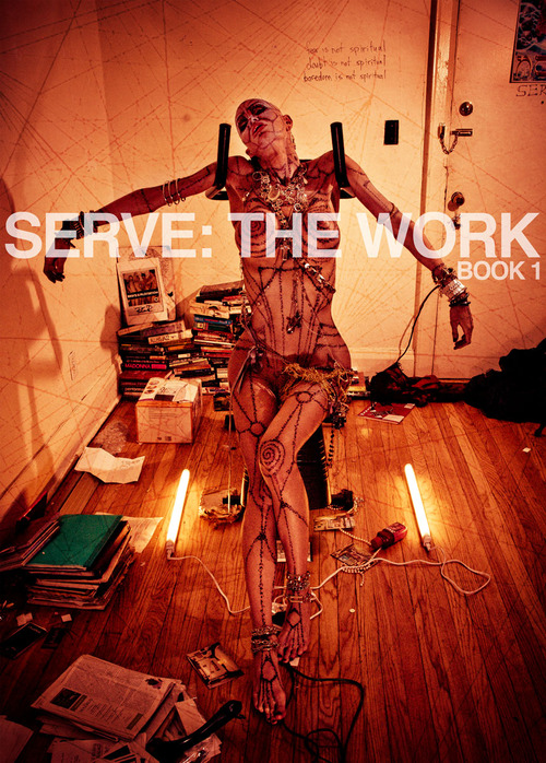 SERVE: The Work is an ongoing visual collaboration between photographer Alejandro Santiago & transsexual performance artist Nina Arsenault.