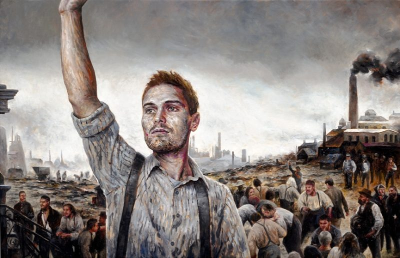 Liberty, Oil on Canvas, 48 x 36 inches, 2011, Private Collection.