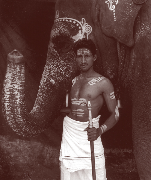 Mahout & Elephant, Bharat India Series, 1993, Toned, Mat Silverprint Photographs, 13 x 15 in, Edition of 10, $4000