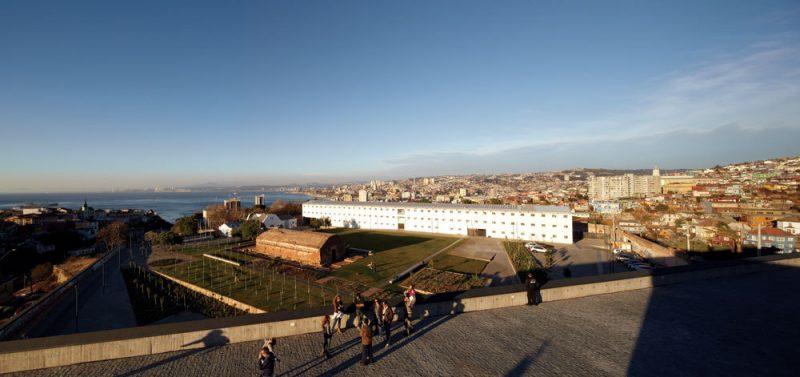 Former Prison, Parque Cultural de Valparaiso, Chile.