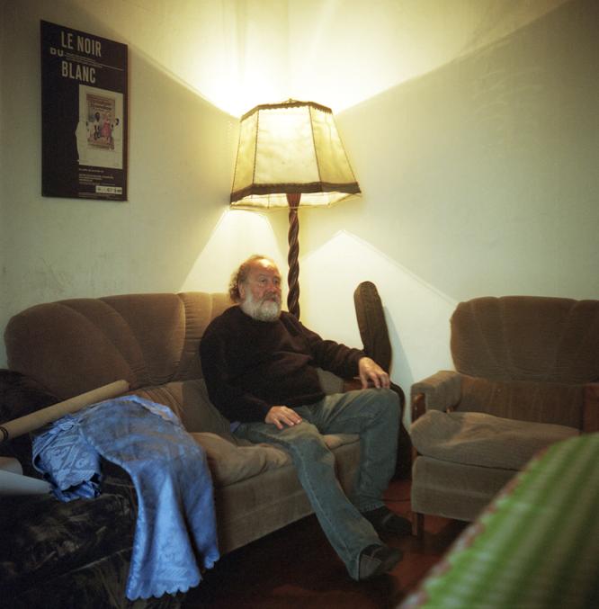 Portrait of David Soto, by Alexis Mandujano, 2014.