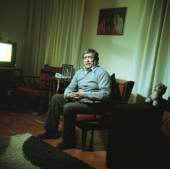Portrait of Alfonso Godoy by Alexis Mandujano, 2014.