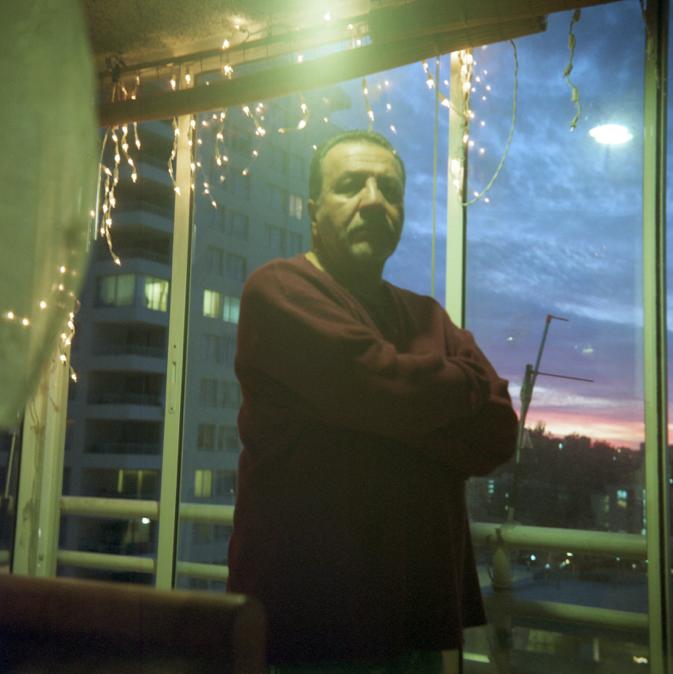 Portrait of Antonio Oyarzo by Alexis Mandujano, 2014.