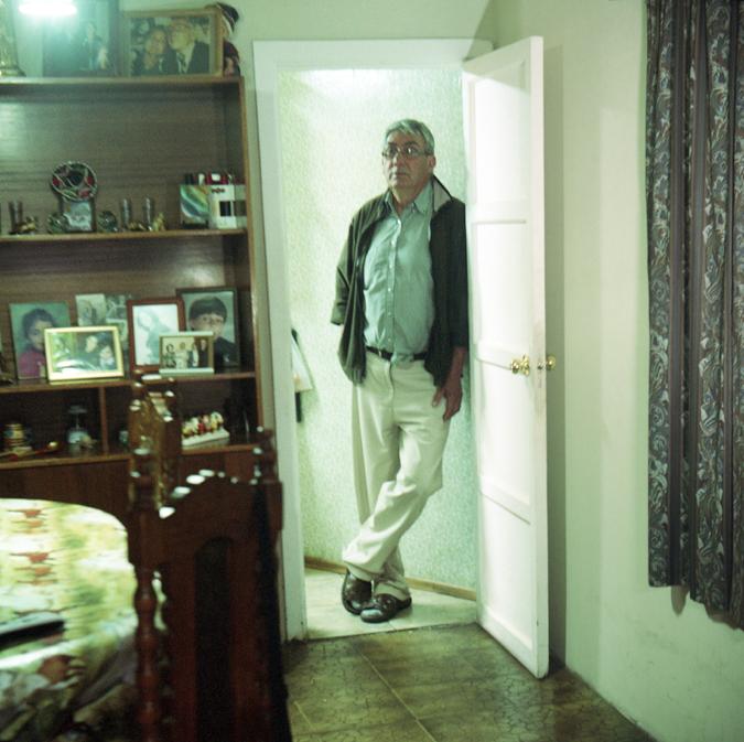 Portrait of Juan Villagran by Alexis Mandujano, 2014.
