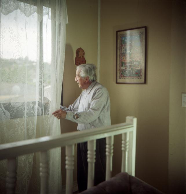 Portrait of Sadi Joui by Alexis Mandujano, 2014.