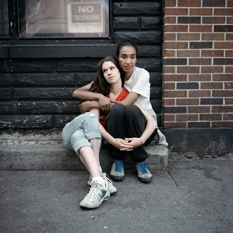 Stephanie + Melanie, USER Series, Photograph, 16 x 16 inches, Digital Archival Print, Limited Edition, 2010.