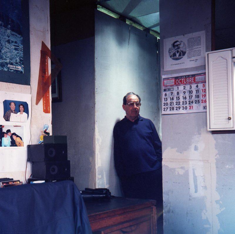 Portrait of Umberto Arancibia, by Alexis Mandujano, 2014.