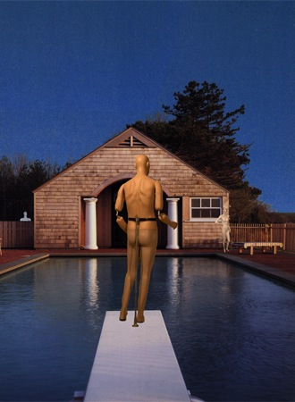 Melanie Garcia, Swimming Pool, Cold Buffet Series, Digital C-Print, 44 x 60 inches, 2004, Edition of 6, $1600 framed.