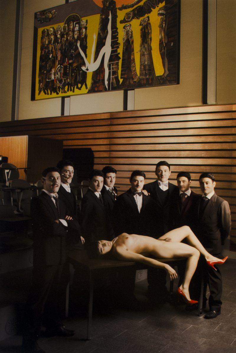 David J. Romero (Mexico City, Mexico), Untitled, 16 x 14 inches, $150 unframed