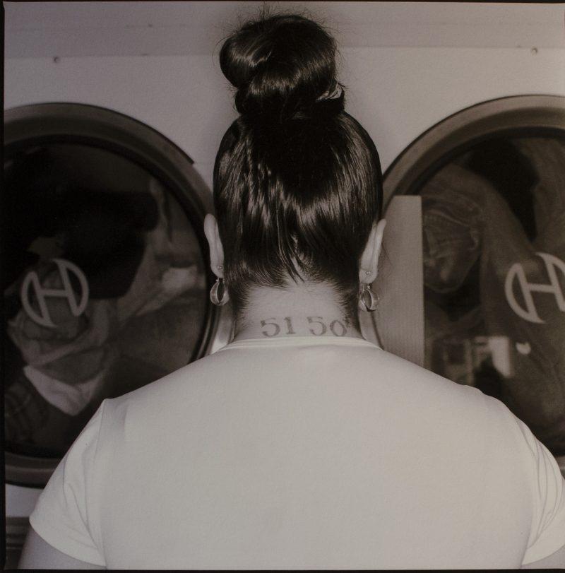 Tony Fouhse, Laundromat, Desert Hot Springs, California, photograph, 12 x 14 inches, 2002, $250 unframed