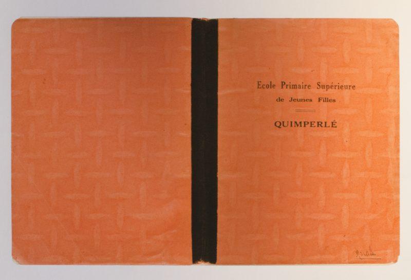 Marion Bordier (Ottawa, Canada), Le Cahier Morale de ma Mère, 19 x 13 inches, 2009, $150 unframed