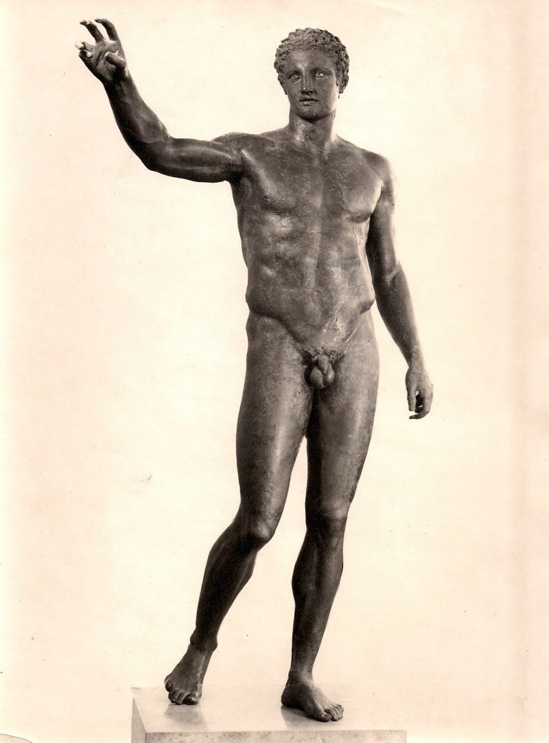 Anonymous, Nude Sculpture, Silver Gelatin Photograph, 6.75 x 9.25 inches. $15.
