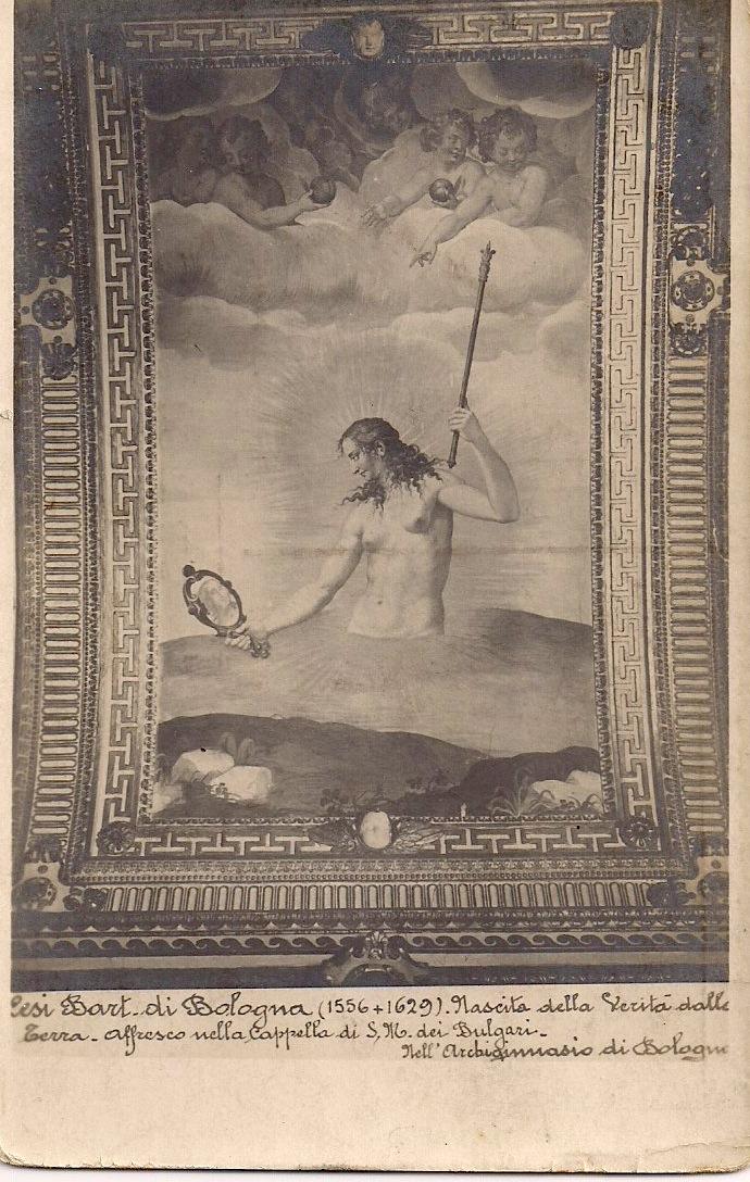 Bartolomo Cesi Fresco, Italy, Anonymous, Postcard, Date Unknown, 3.5 x 5.5 inches. $5.
