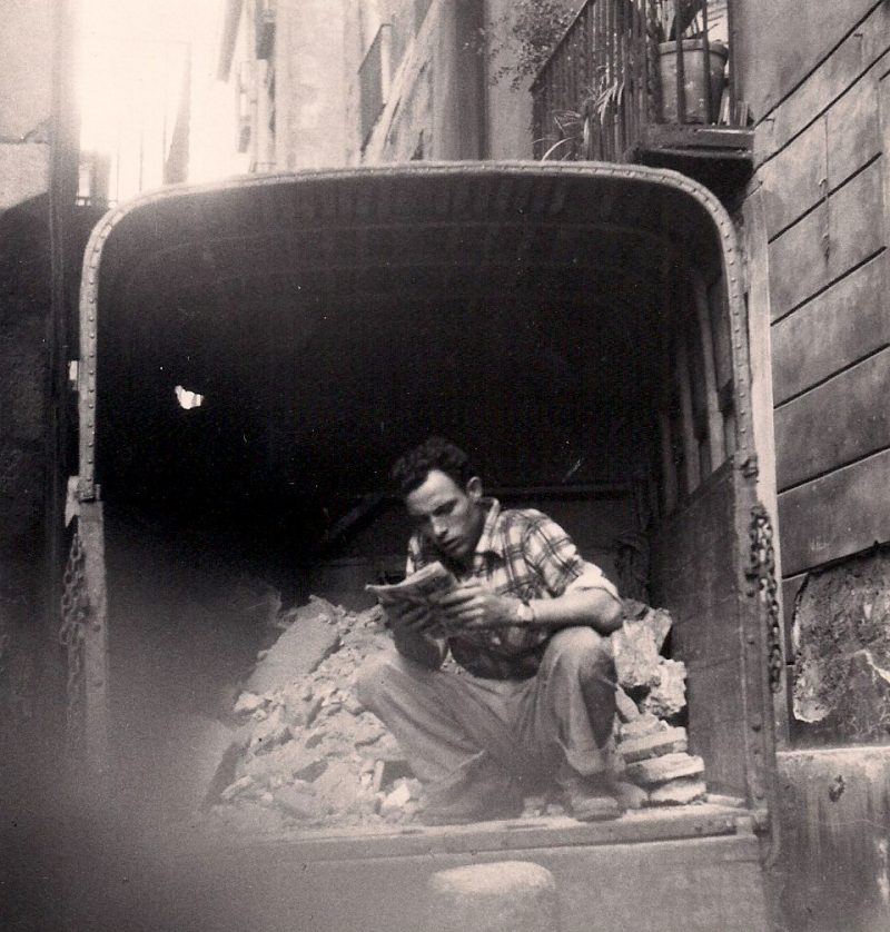 Jerome Hill, Barcelona, 1957. Siver Gelatin Photograph, 5 x 5.25 inches. $85