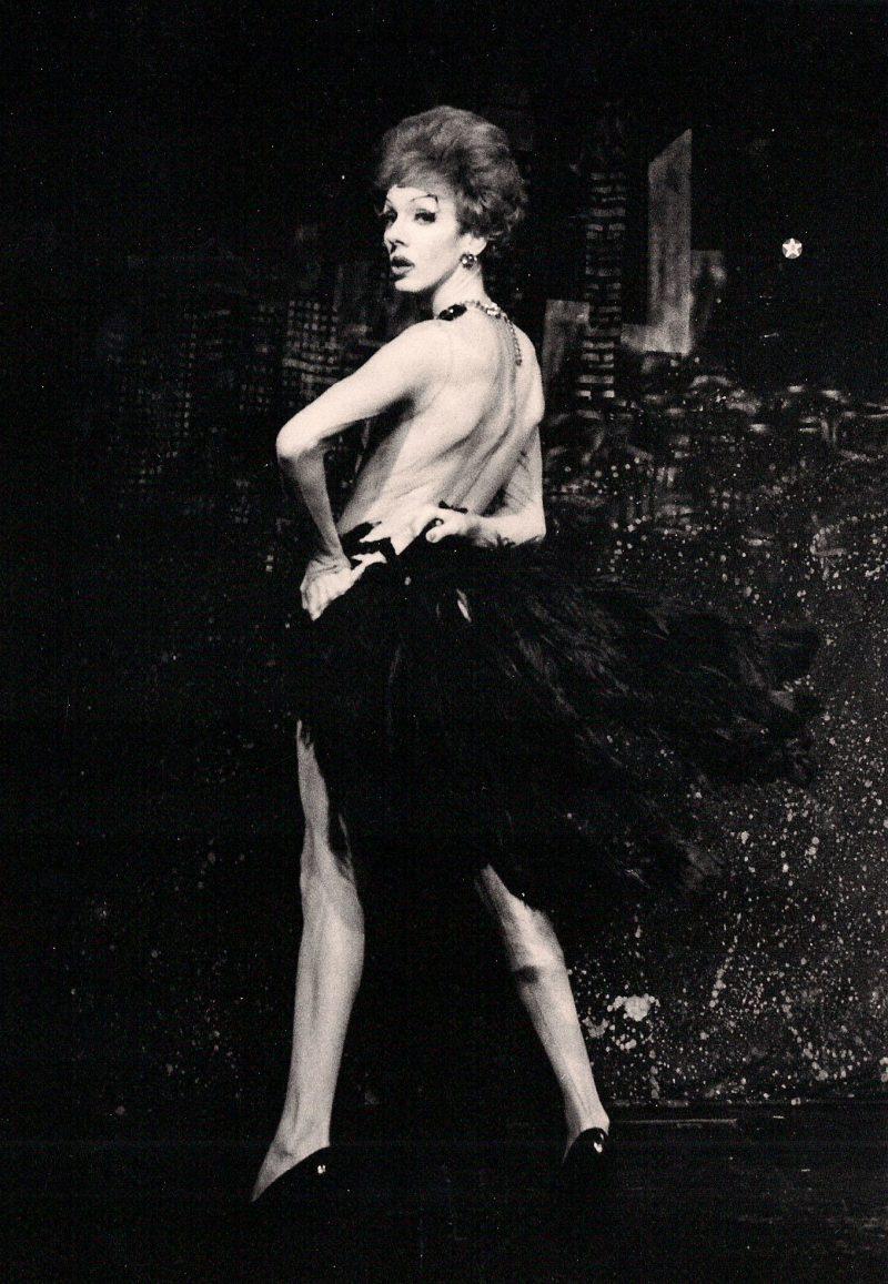 Victor Carnuccio, (New York, USA), Lypsinka Drag, 1990's, Silver Gelatin Print, 5 X 7 inches, Stamped by artist on verso, $150.