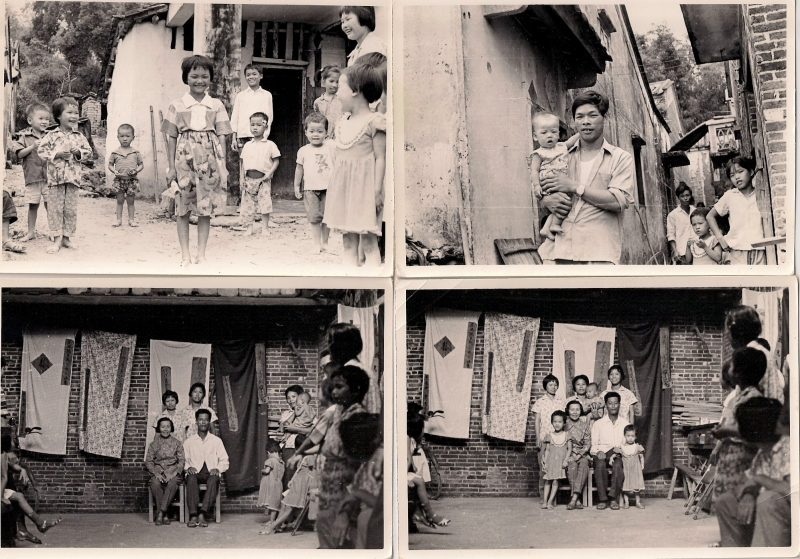 Village Life in China, Rare Set of  11 ( 4 shown) Anonymous Vintage Silver Gelatin Prints, 3.5 x 5 inches each, $80 set.