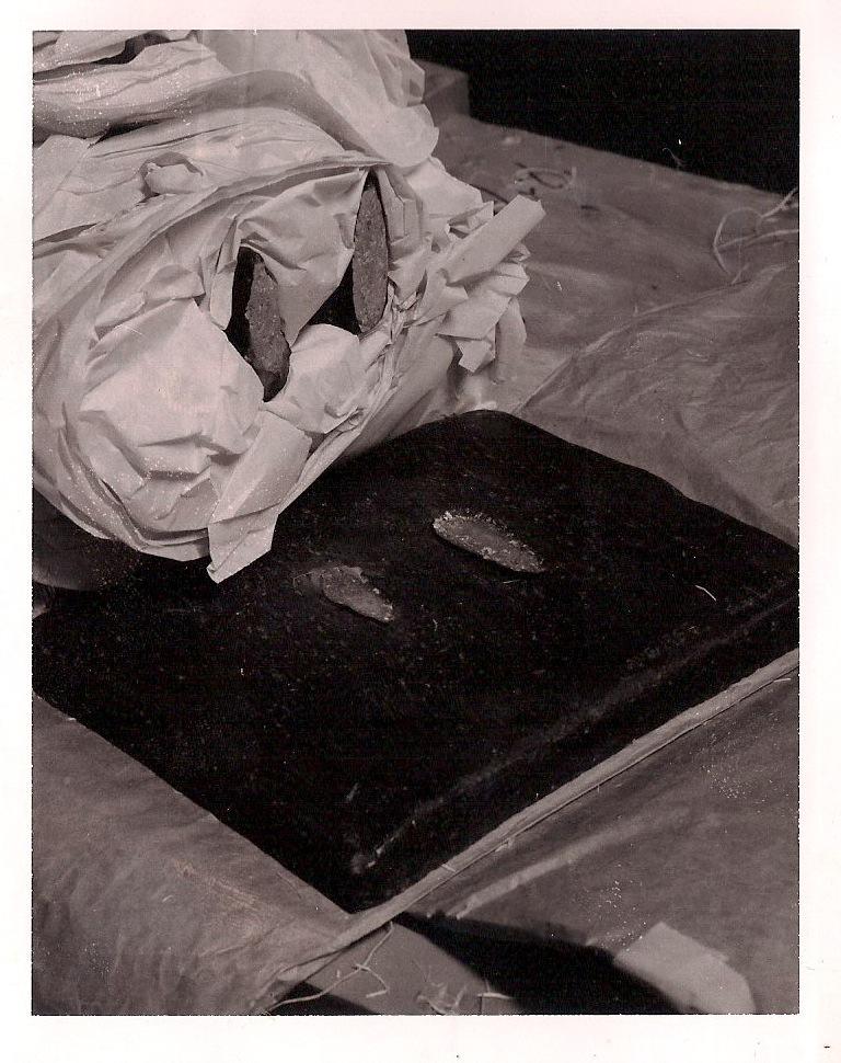 Anonymous & Bizarre Original Vintage Polaroid Print, Written on Verso: 'Oscar Wilde', Circa 1950's, $50.
