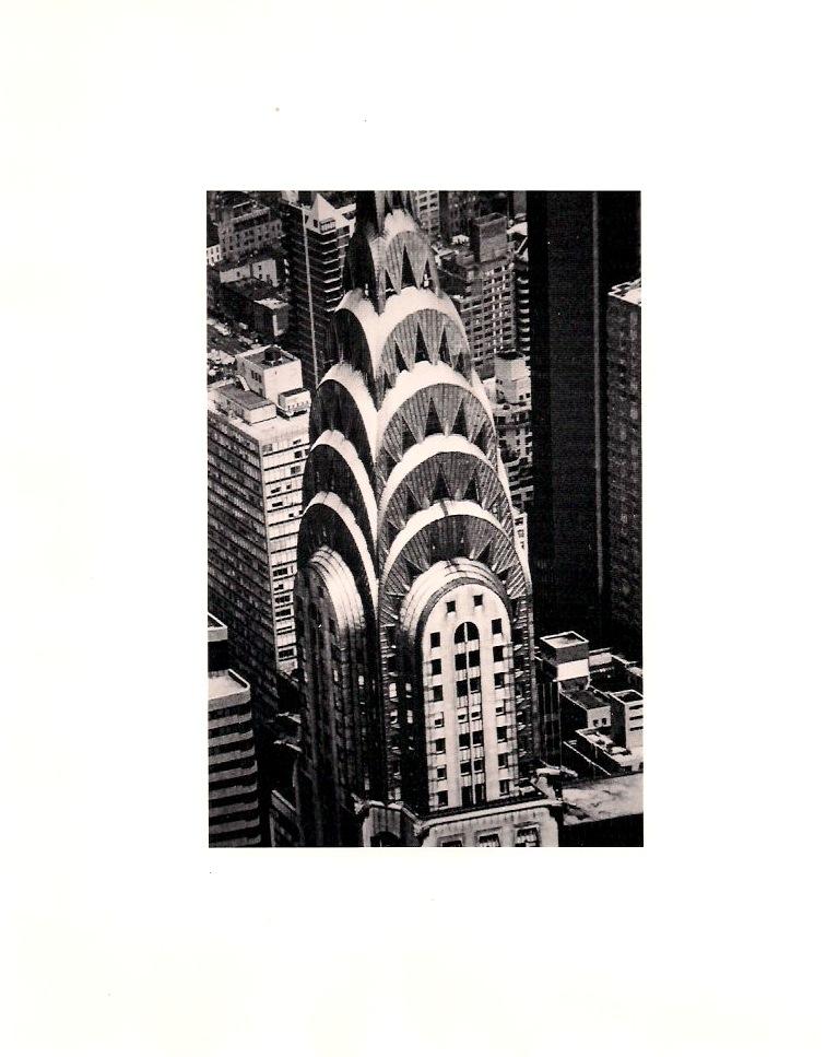 Anonymous, Chrysler Building, New York City, circa 1980s. Original Silver Gelatin Photograph,  8 x 10 inches, $75.