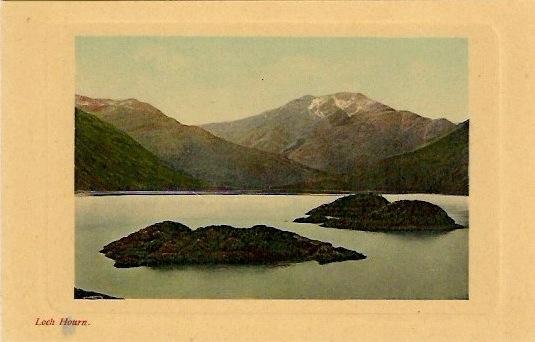 Anonymous, 'Loch Hourn', Vintage Italian Silver Gelatin Photo/Postcard, 3.5 x 5.5 inches, $15.