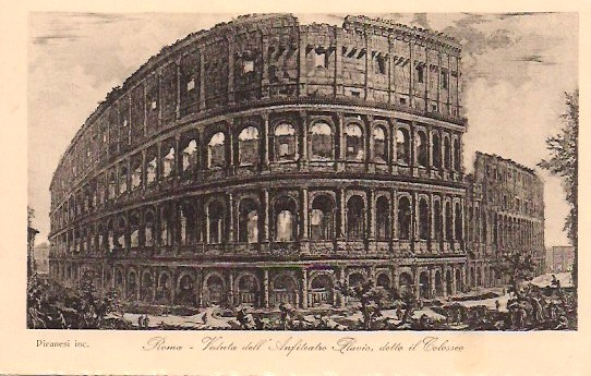 Anonymous, Vintage Italian Postcard of the Colosseum, Rome, 3.5 x 5.5 inches, $15.