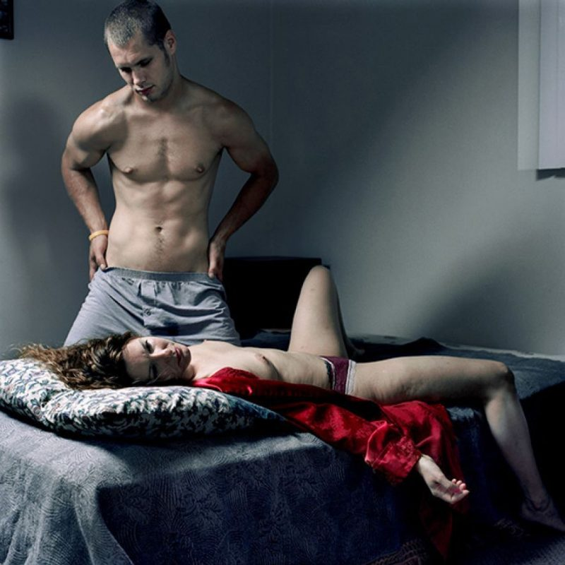 Tony Fouhse (Ottawa, Canada), 'Erik & April' Series, 2009, Photograph, 16 x 16 inches, Open Edition, $400 Framed & $100 unframed 8 x 10 inches.