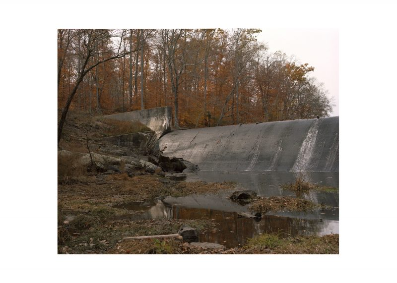 Pocahontas State Park, Picture of the Dam. One Hundred and Thirty Days.  (Pairing five, 1 of 2)