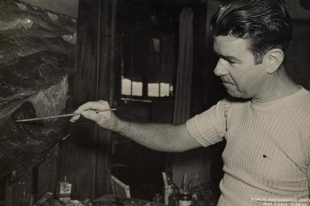 A. E. 'Beanie' Backus. (1906 - 1990)