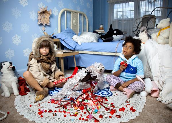 Jonathan Hobin (Ottawa, Canada), Seal Heart, 'In the Playroom' Series, Photograph, 39 x 54 inches, Framed.