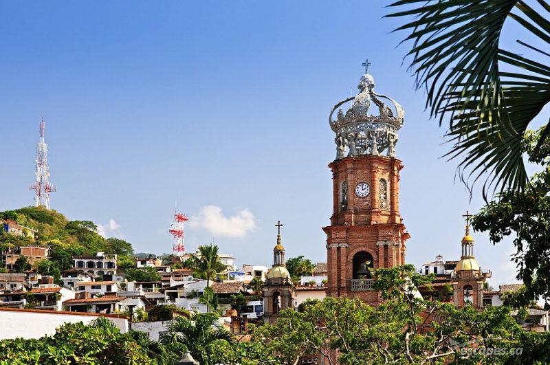Puerto Vallarta, Mexico. Tourism photographs.