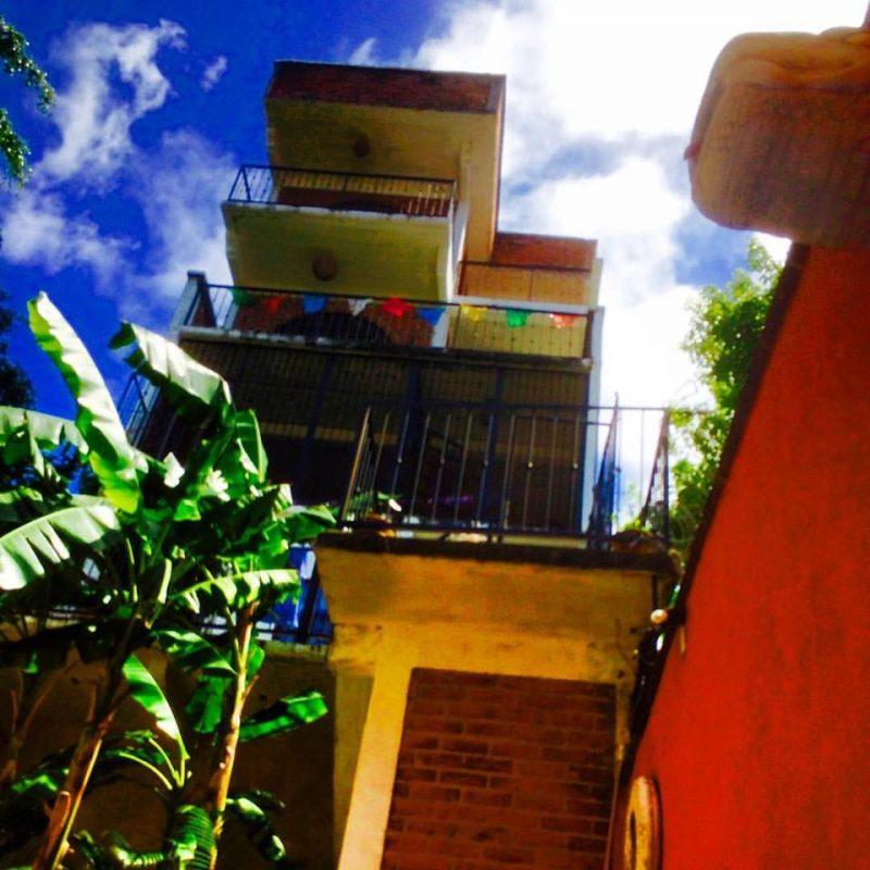 Photos of residency home by Guy Berube.