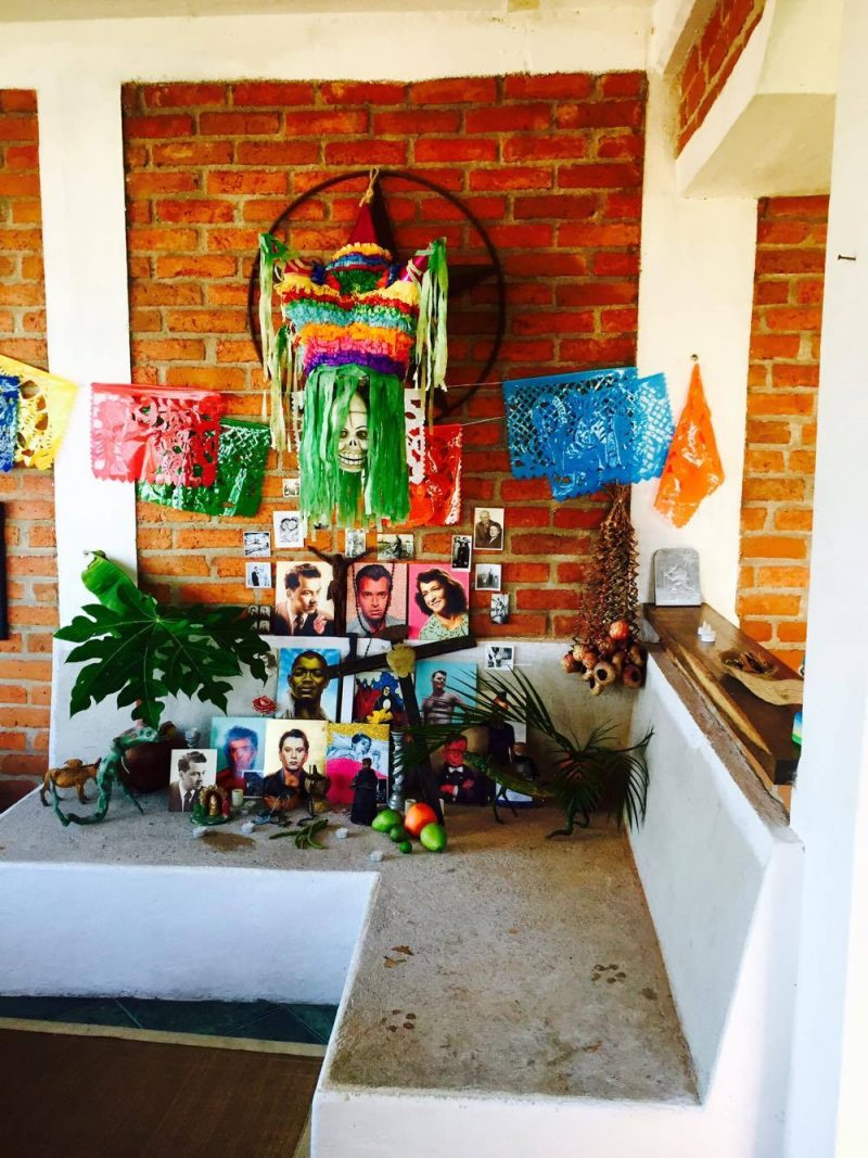 'All Saints' Shrine Installation by LPM Projects along with local participants. Commissioned for the Day of the Dead Celebrations in Puerto Vallarta, Mexico.