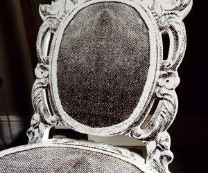 Madame de Pompadour Folding Chair