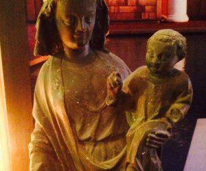 Madonna & Child Church Sculpture