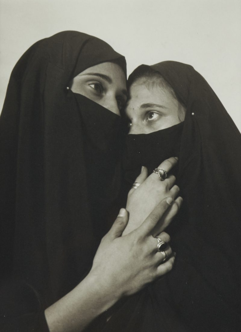 Andres Serrano, (1950), New york, USA, Istanbul (Sisters), Platinum Print / Photograph, Signed and Numbered 125/125 on the reverse, 9.75 x 8 ins ( 24.8 x 20.3 cms ) ( image ). Estimated: $2,000.00 - $3,000.00