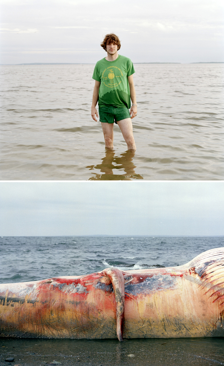 Jesse Burke (Rhode Island, USA), 'Moby Dick', Dyptych Photograph,  20 x 32 inches, framed. US$2250.