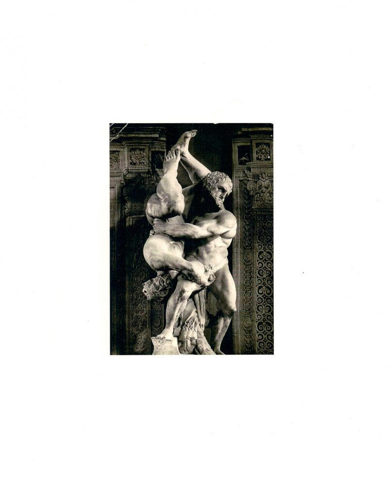 Digital Print from Found Vintage Postcard, Original date unknown, 8x10 inches. $15